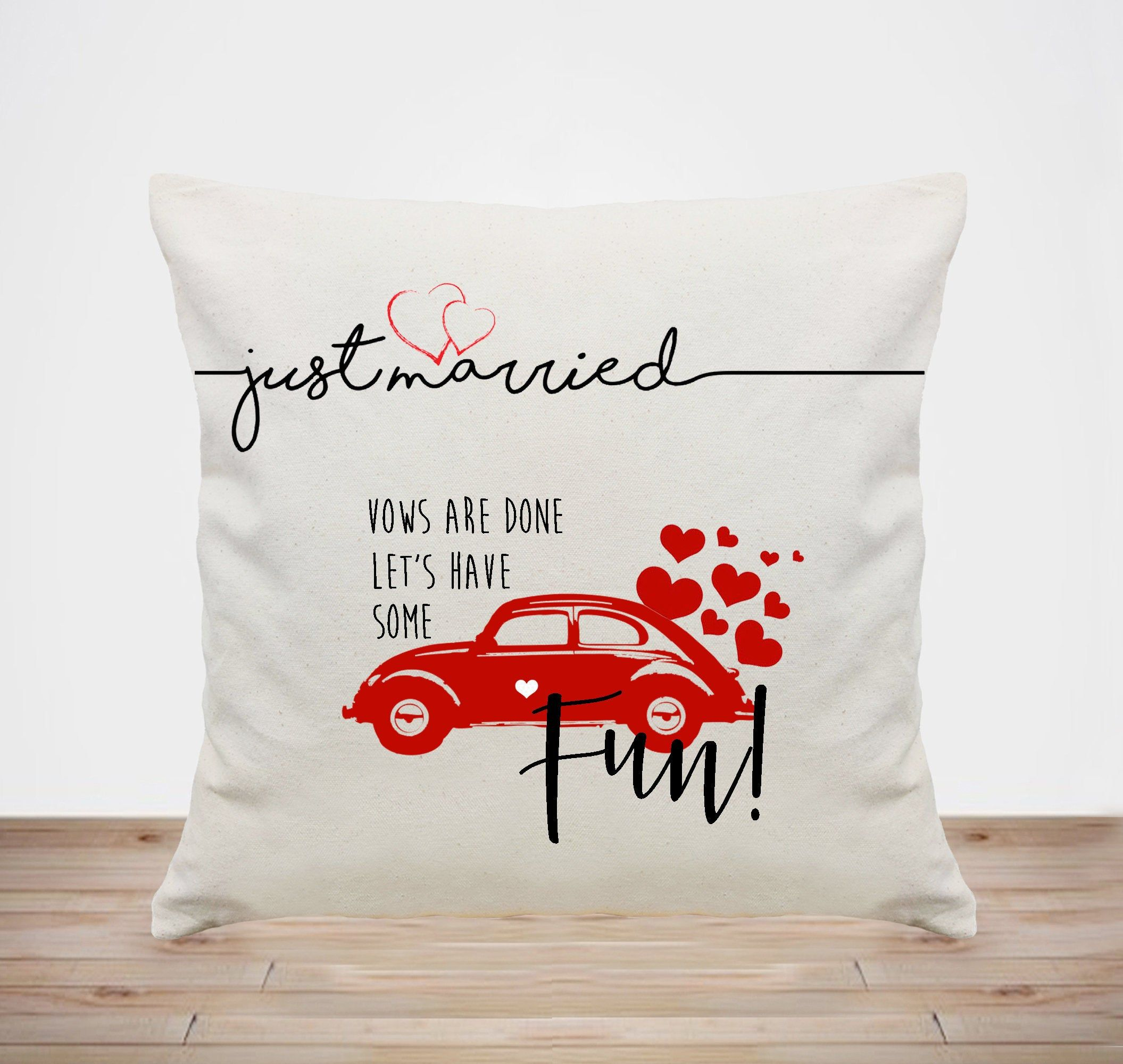 Wedding Pillow Personalized-custom Wedding Gift For Couple