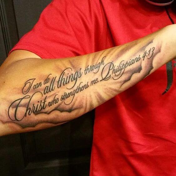 Scripture Tattoos For Men Scripture Tattoos Tattoos For Guys Bible Verse Tattoos