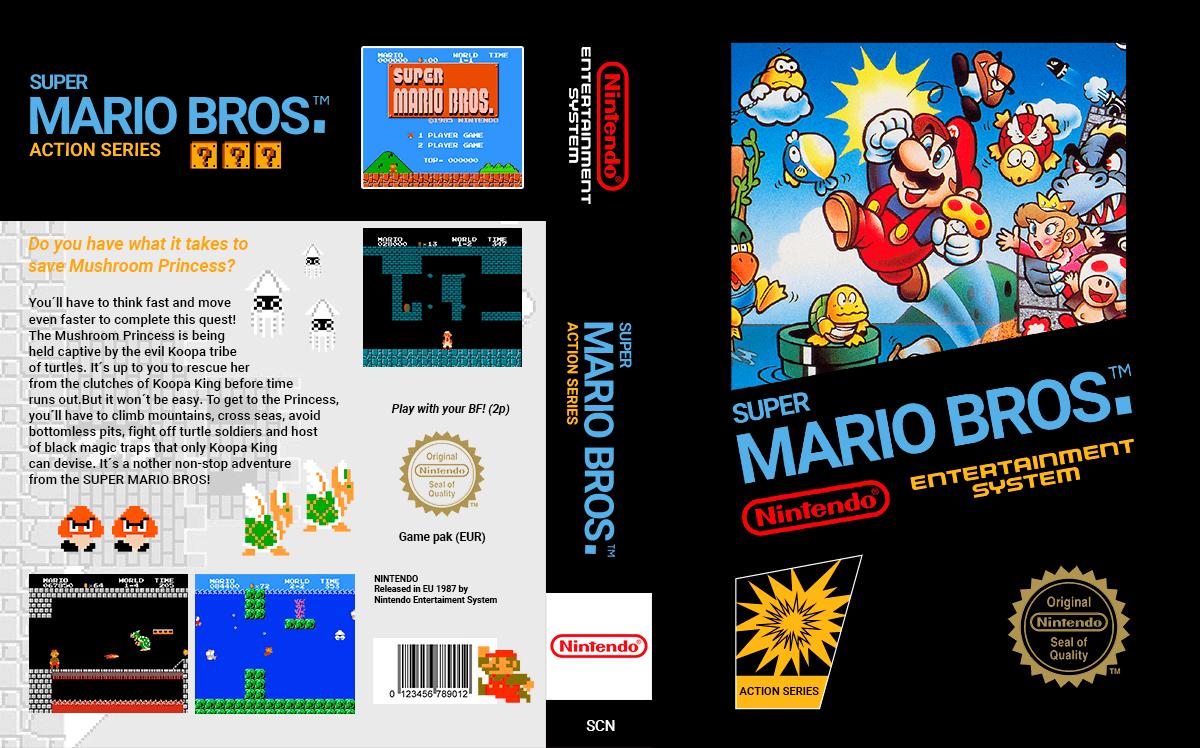 Nr 1 - Super Mario Bros, by RLA