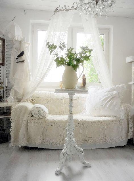 Pin von Nancy Coffman auf Romantic Bedrooms Pinterest Entdecke - franzosischer landhausstil ideen einrichtung