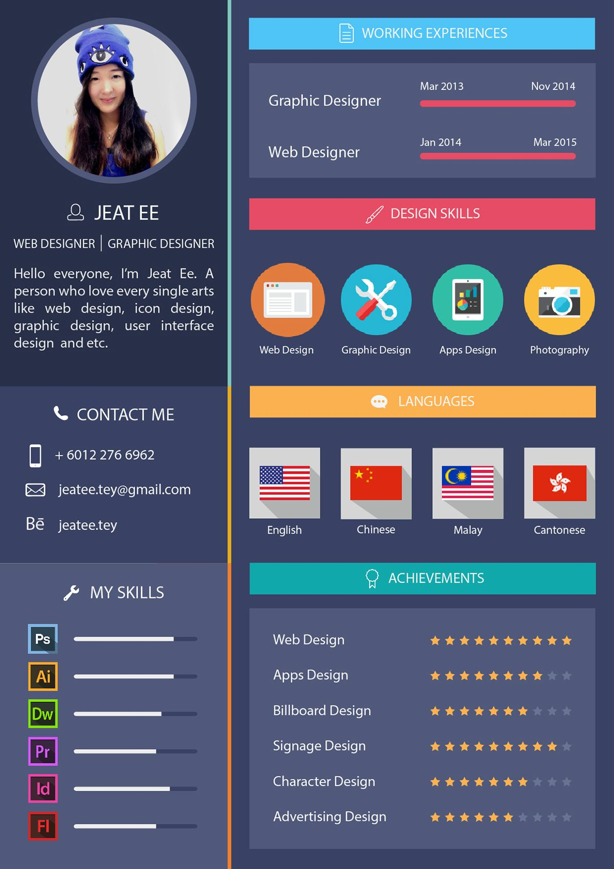 Personal Resume on Behance