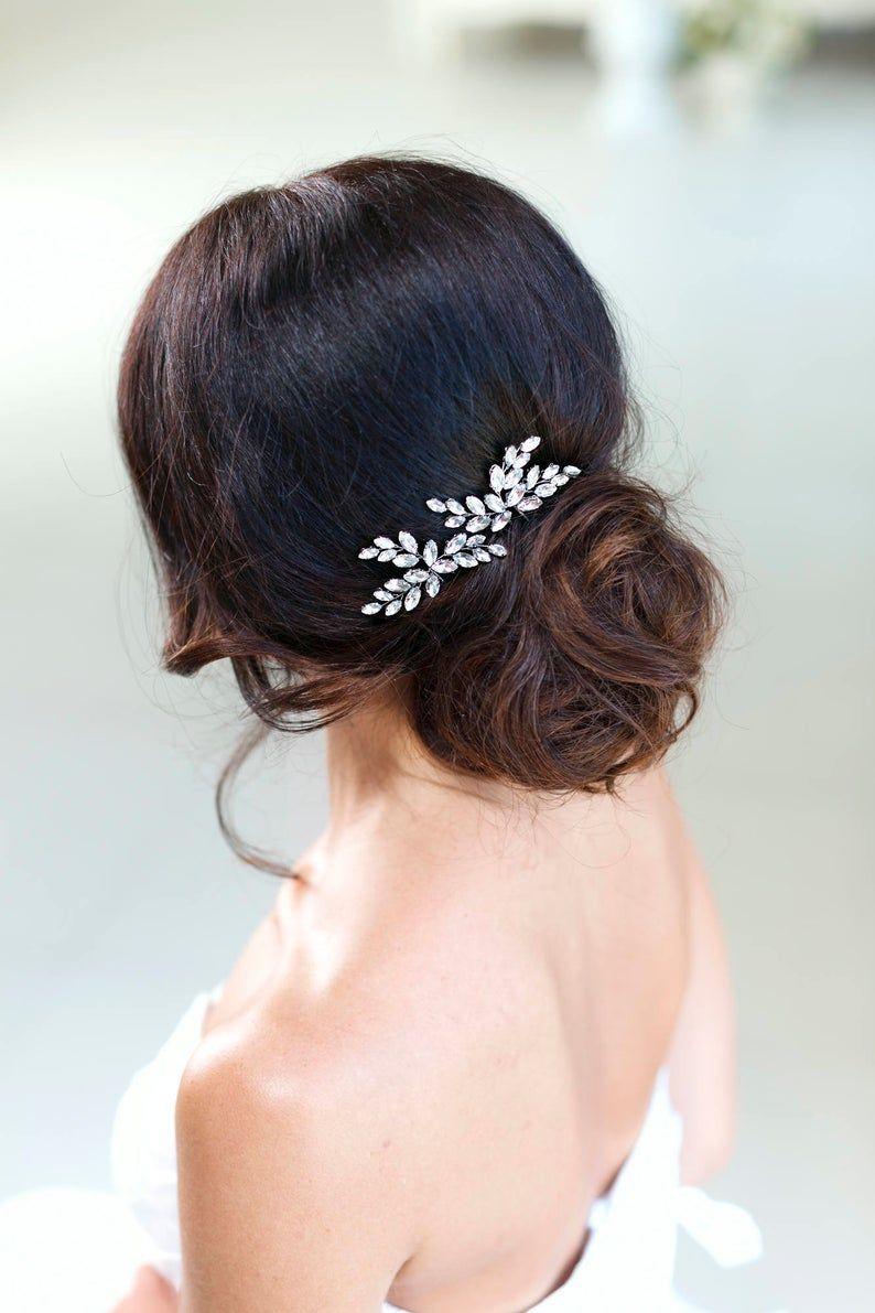 Bridal hair pins crystal hair pins wedding hair pins