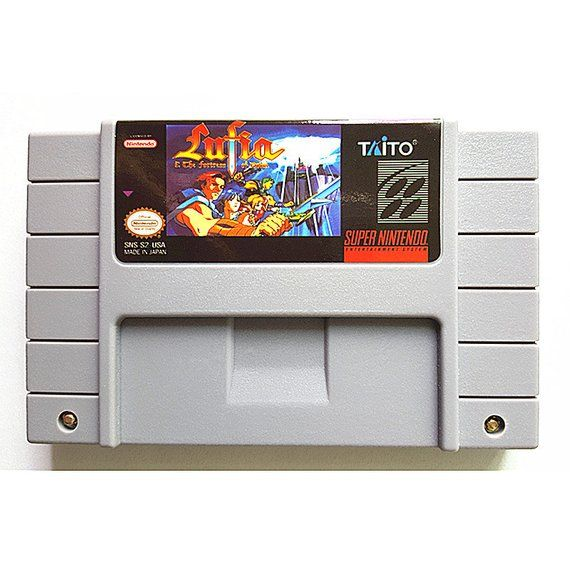 Lufia & The Fortress of Doom - Super Entertainment System English
