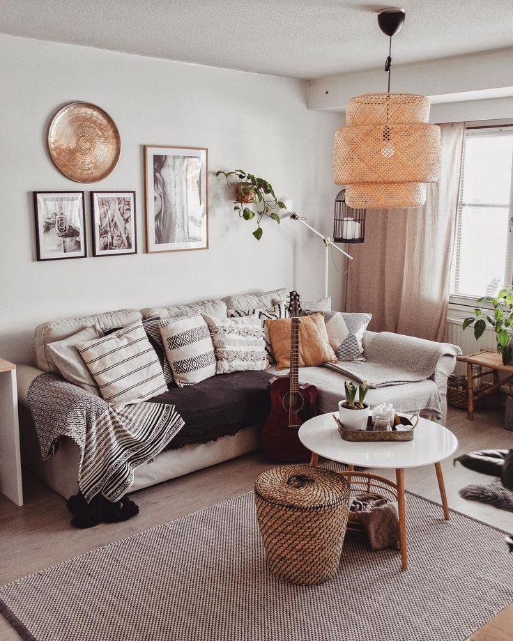 modern boho | #home #style | Innenarchitektur wohnzimmer ...
