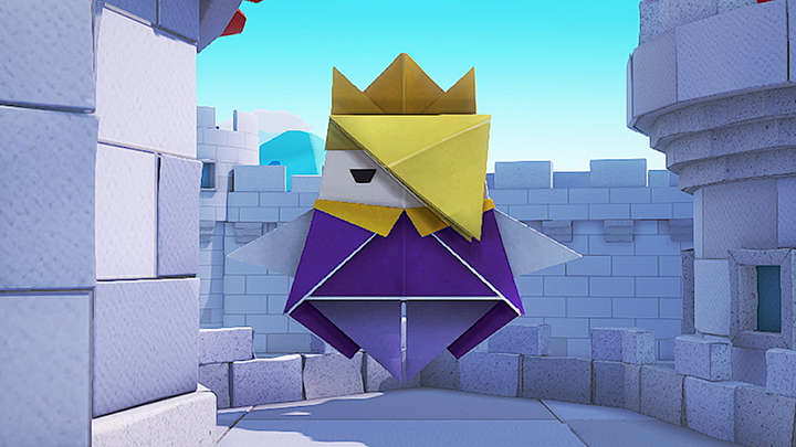Paper Mario The Origami King Do It Yourself Daddy Paper Mario Origami Mario