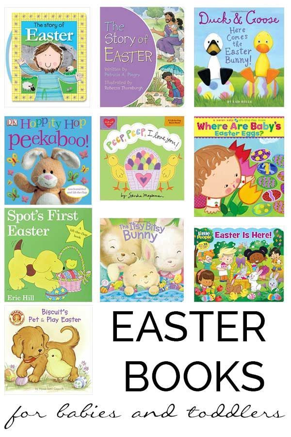 Easter books for babies and toddlers easter baskets and easter easter books for babies and toddlers easter basket ideaseaster basketseaster negle Images