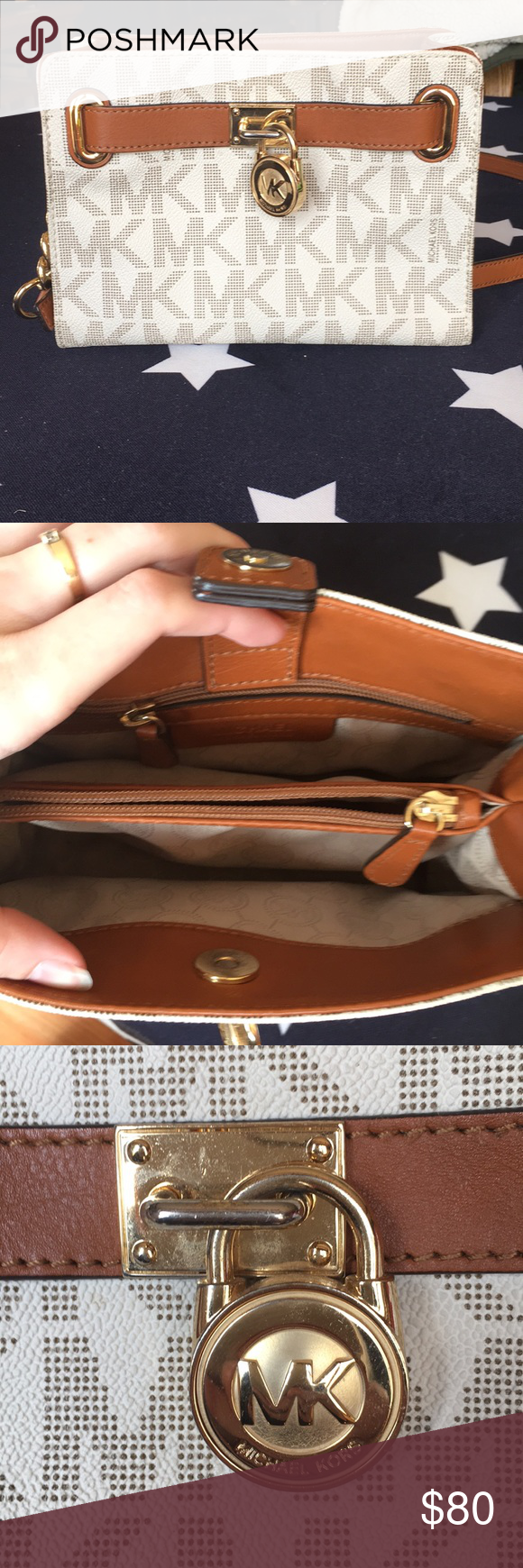 8be351873e36 Next to new Michael Kors Purse Monogram satchel 1974222 Michael Kors Bags  Shoulder Bags
