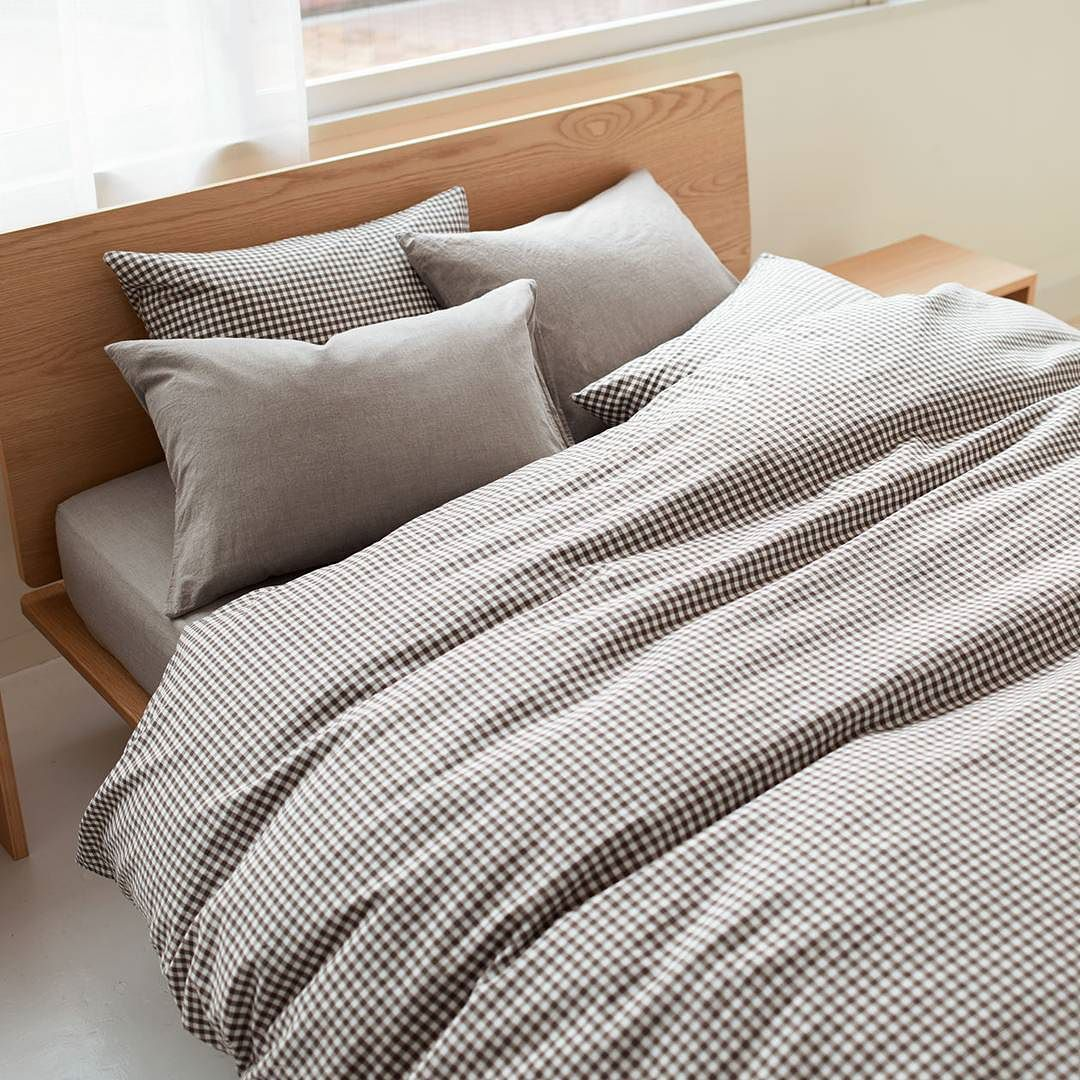 Enjoy the comfort of bedding made from natural materials