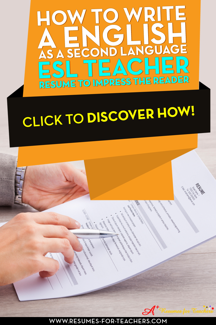 resume writing tips for english as a second language  esl