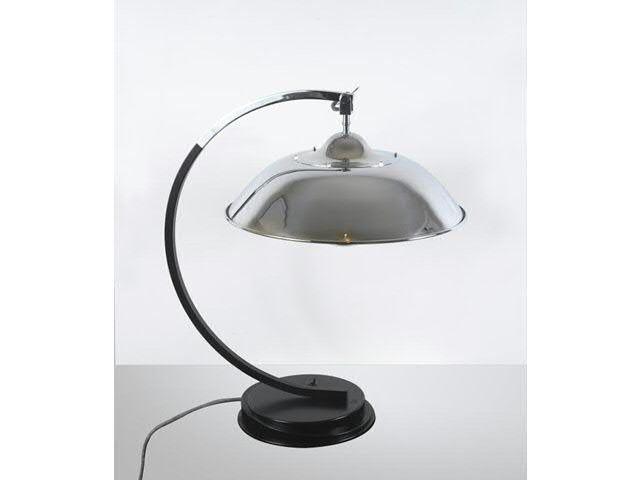 Mariano fortuny  lampe de bureau socle en acier