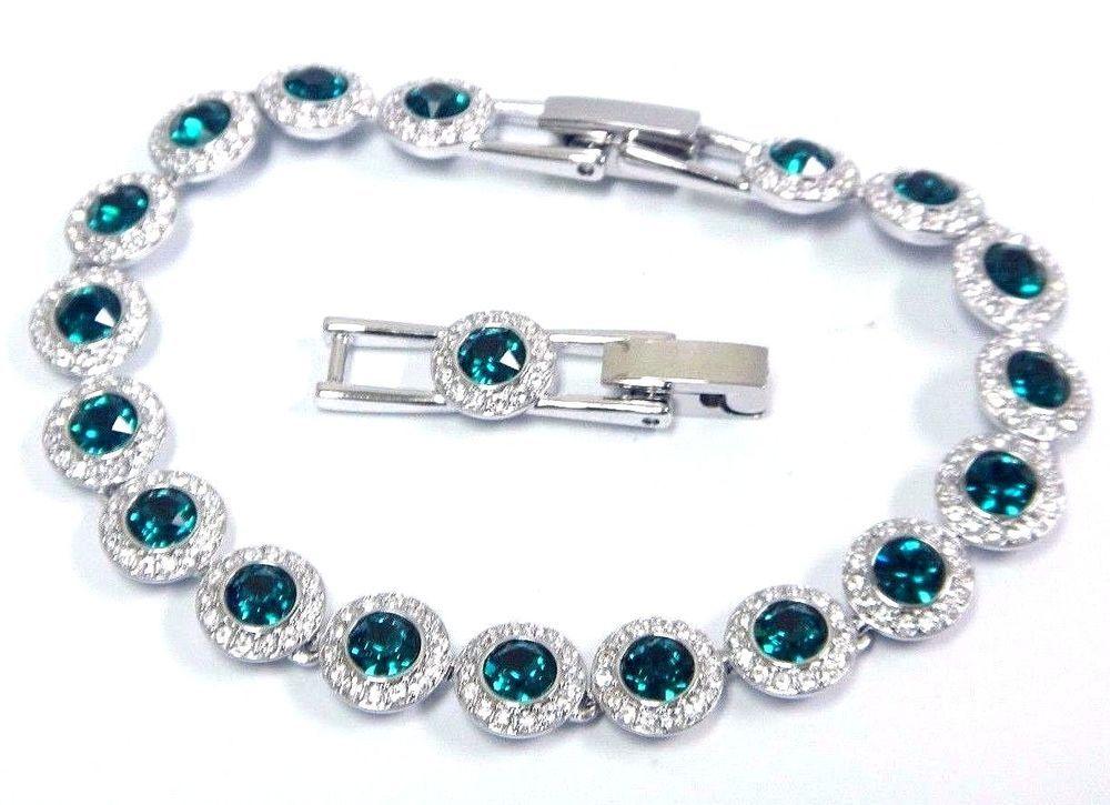 Angelic Bracelet Emerald Green Crystal Medium 2016 Swarovski Jewelry 5237769 Swarovski Jewelry Jewelry Bracelets