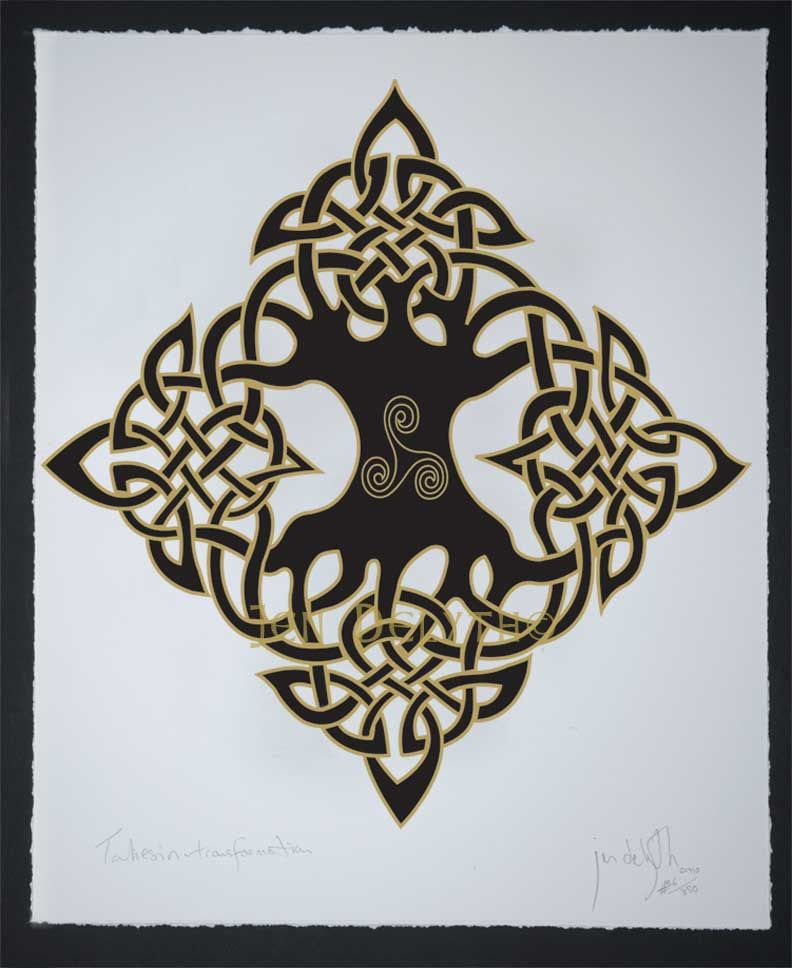 ELEMENTAL Tree of Life  - Archival Open Edition Celtic Print