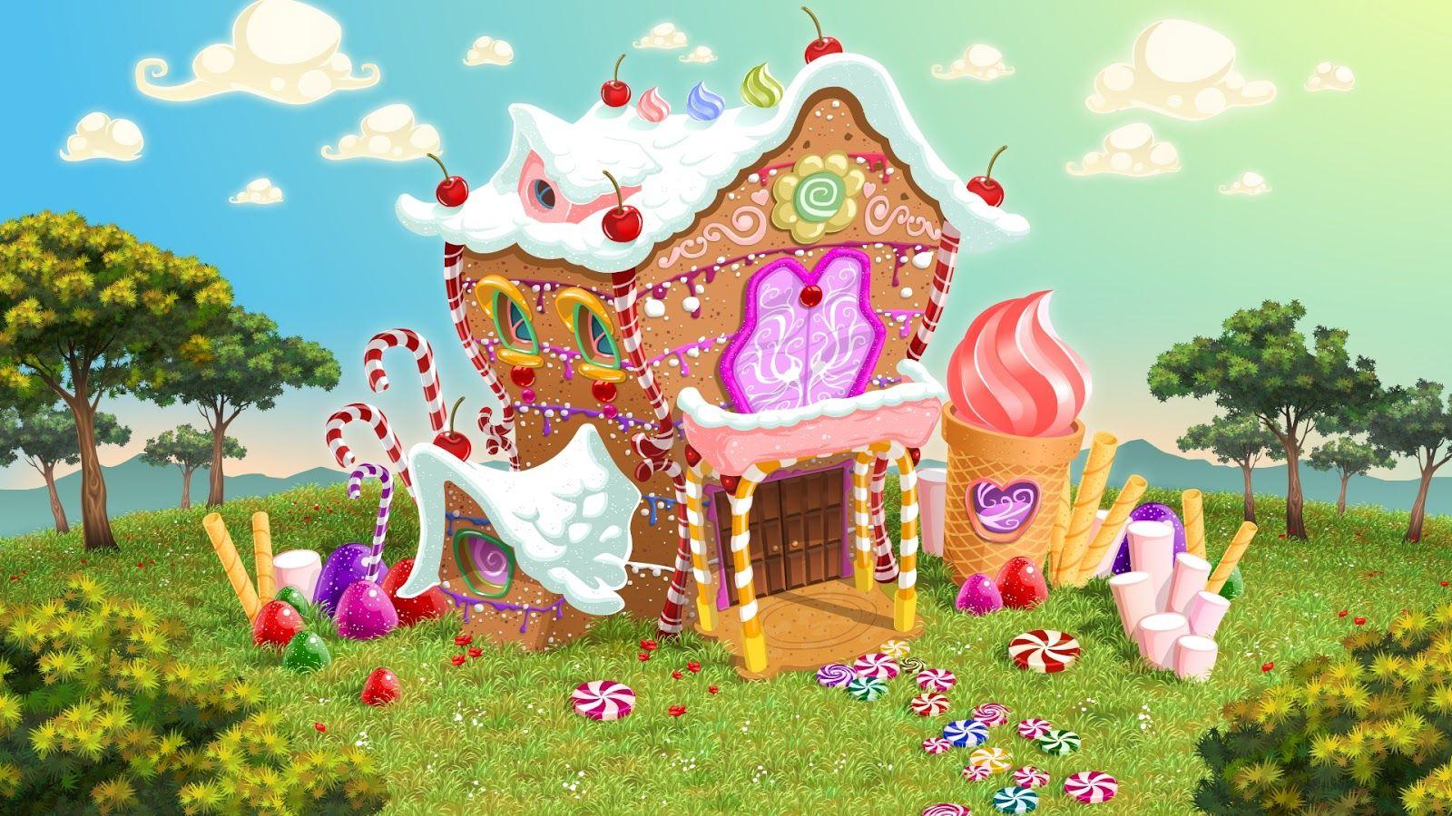 Tragaperras Hansel Y Gretel 11 Jpg 1 600 900 Pixels Candy House Bing Images Printable Art