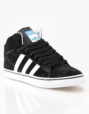 competitive price 331f0 7e2a6 Adidas Hi-tops, Price  GBP 59.99, Adidas Campus Vulc Mid Skate Shoes - Black  White Bluebird