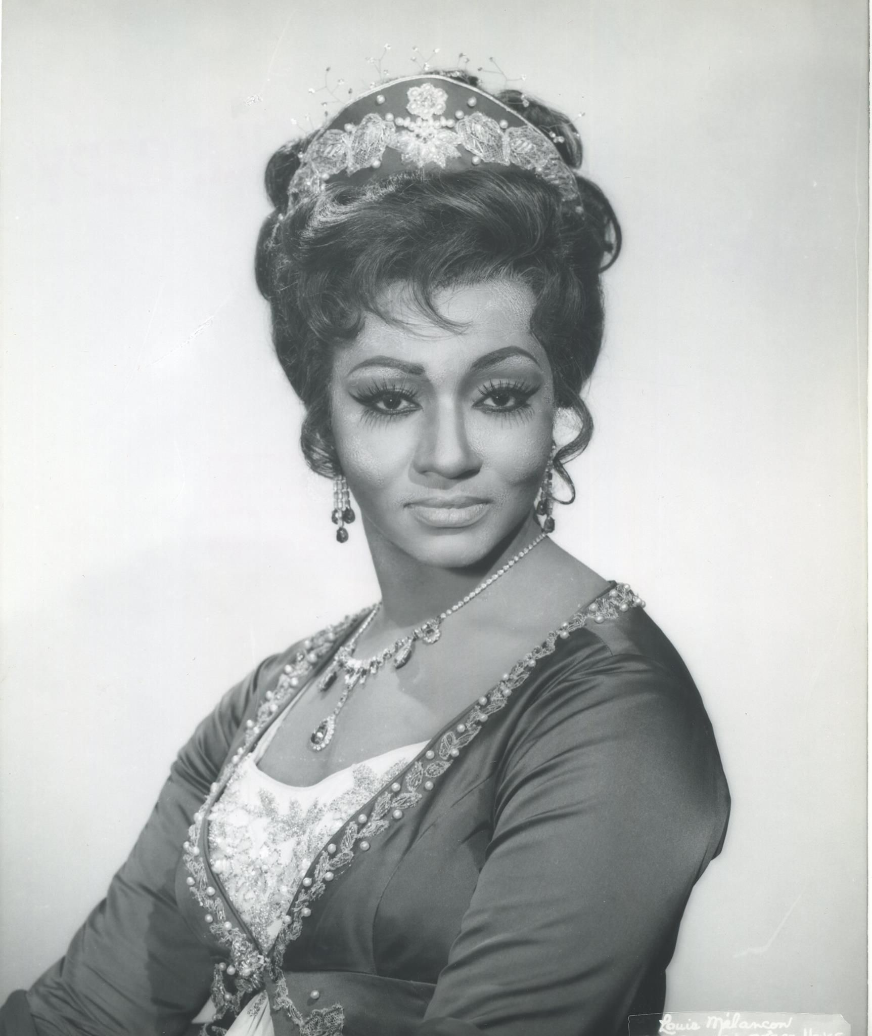 Grace Bumbry, who famously sang both soprano and mezzo