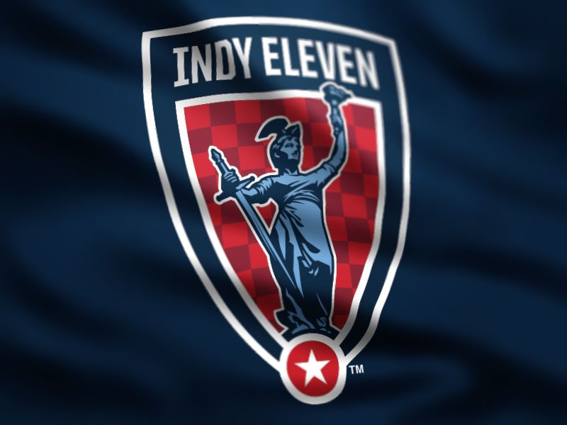 Created the badge and established the initial branding for Indy Eleven Soccer team of the NASL.