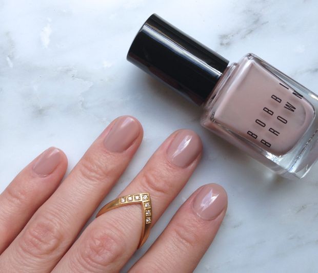 At The Moment I Prefer My Nails To Be Painted In Neutral Shades And This Bobbi Brown Polish