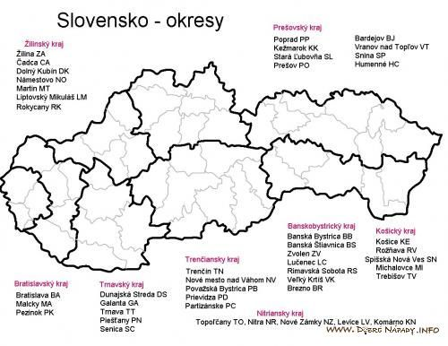 Okresy Sr Activities For Kids Travel And Tourism Ancient Maps