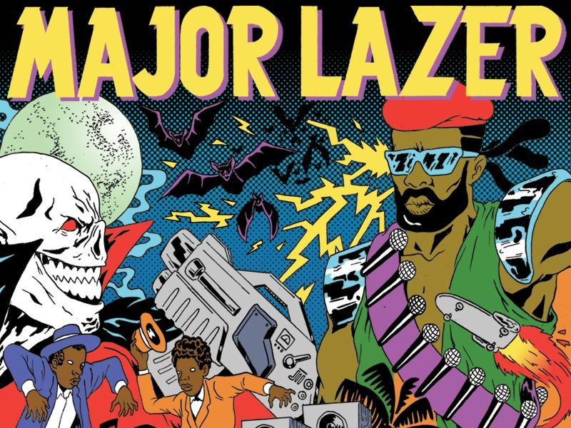Major Lazer album out today (6/16) + Official iPhone App and FREE animated GIFS, desktop wallpaper, AIM icon and Facebook app - RCRD LBL