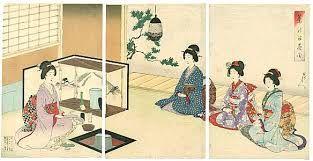 Der Tee kam aus China nach Japan