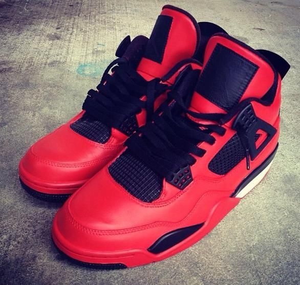 Air Jordan IV (4) 'Blood Sport' Custom If you're considering