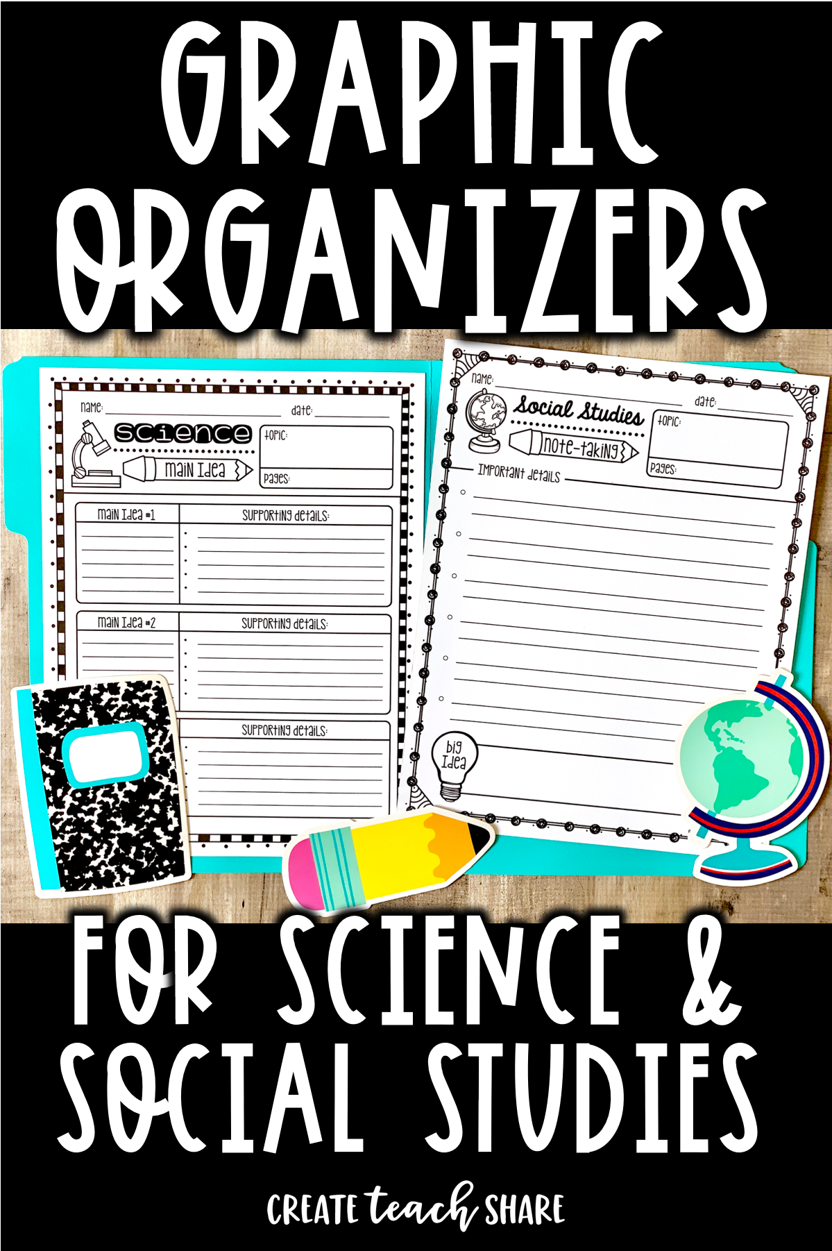 Graphic Organizers For Social Stu S Amp Science
