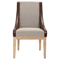 Buxton Brown Sloping Arm Chair - Check out the rest of our new Regency Collection Sale Event!