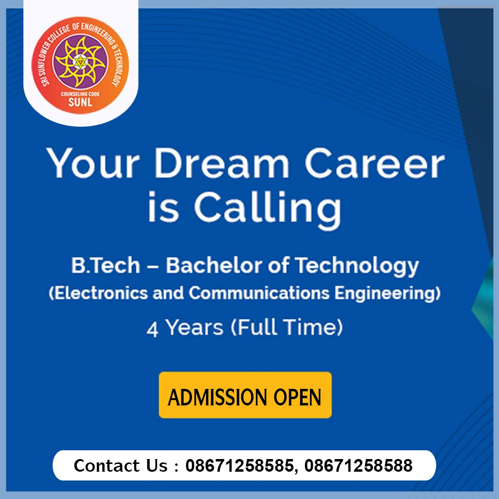 Bachelor Of Technology Bachelor Of Technology Engineering Technology Electronic And Communication Engineering
