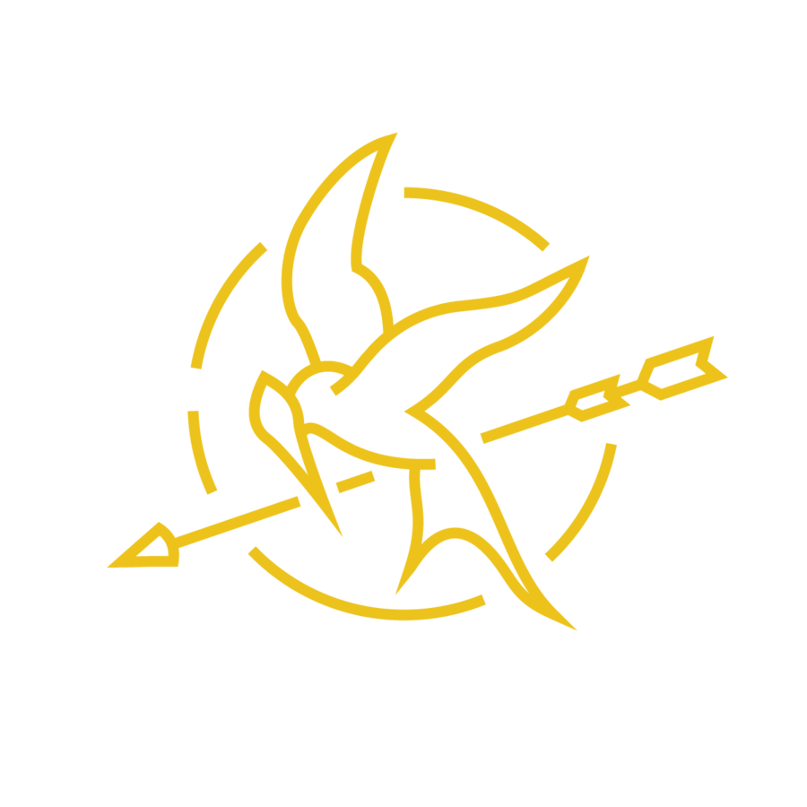 The hunger games symbol the easy way for the not so expertive mockingjay of rebellion vectored buycottarizona Gallery