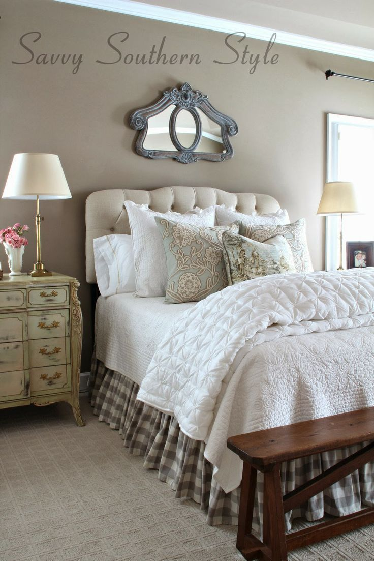 Adding French Farmhouse Style in the Master - Slaapkamer