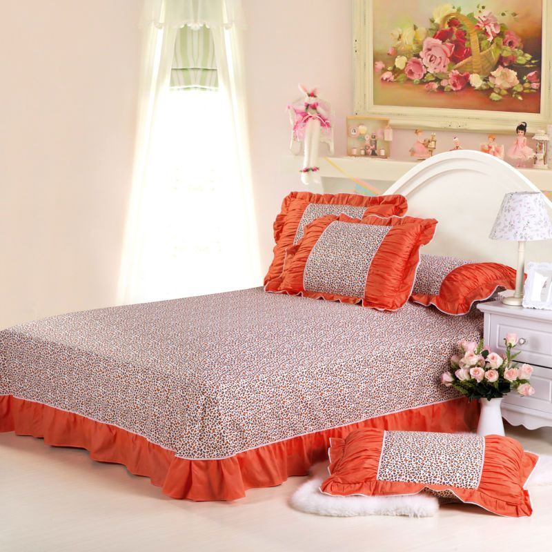 High Quality Aliexpress.com : Buy Korean Princess Countryside Leopard Design Bedding Sets  With Bowknot Bed Cover