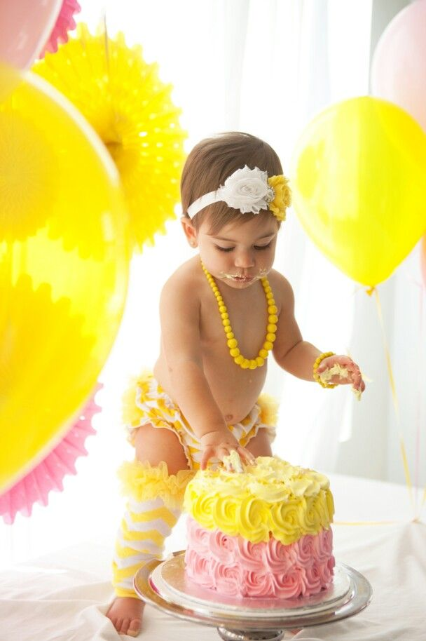 My Daughter Mila S You Are My Sunshine 1st Birthday Party Smash Cake Shoot Sunshine First Birthday Sunshine Birthday Parties Sunshine Birthday