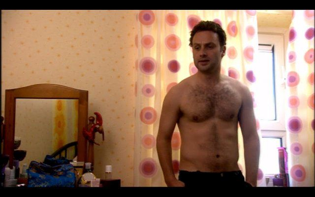The Walking Deads Andrew Lincoln shirtless classics