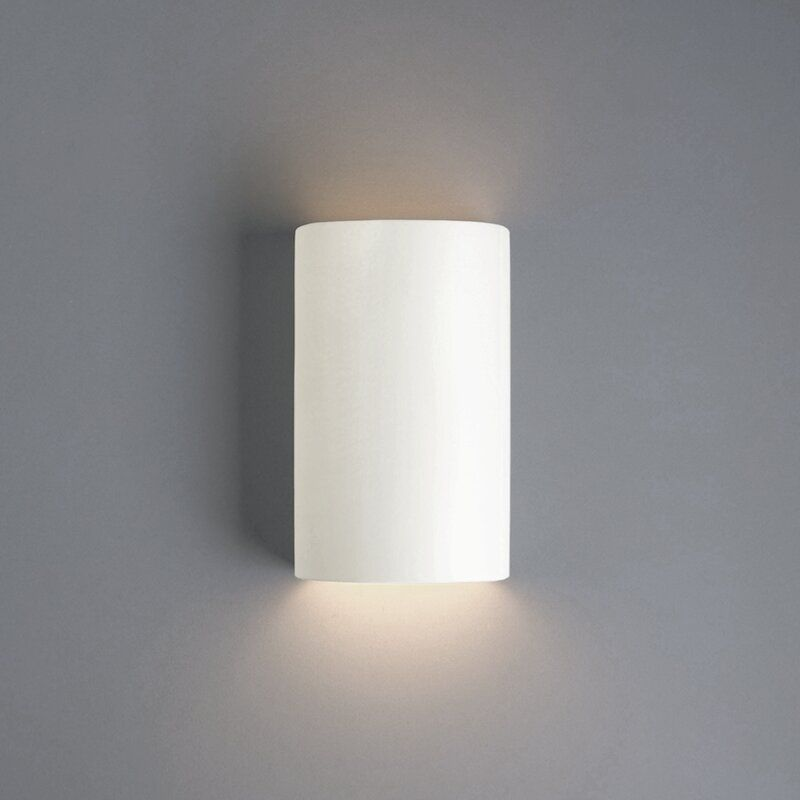 Scanlan Open Top And Bottom Small 1 Light Wall Sconce Reviews Allmodern Wall Lights Wall Sconce Lighting Modern Wall Sconces