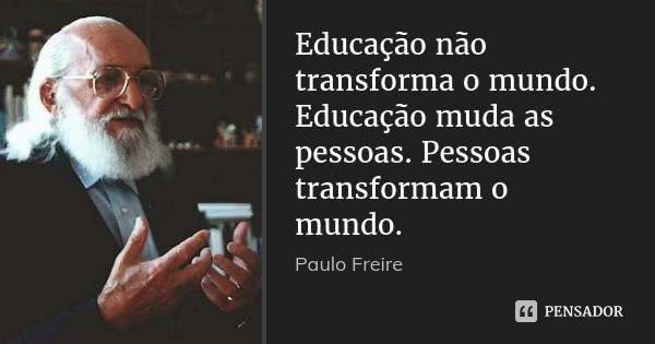Paulo Freire Educação No Trânsito Praticar é Cidadania Paulo Freire