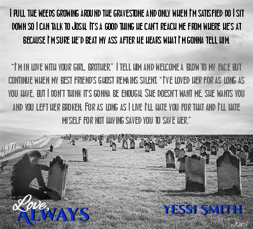 Love, Always by Yessi Smith #rockstardad #ioveyoualways  Amazon: http://amzn.to/1uvTNv9 B&N: http://bit.ly/1p0Pq5N Kobo: http://bit.ly/1qiZV3S