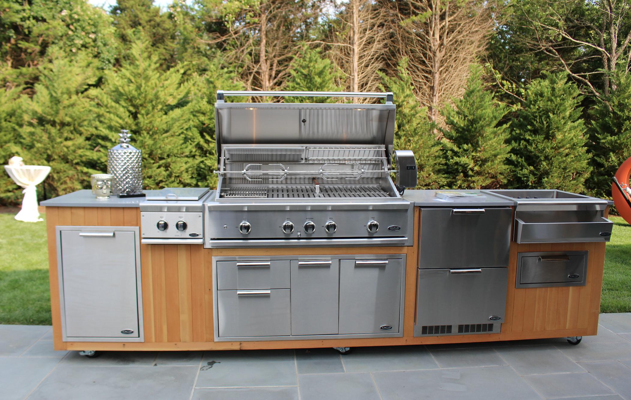 Dcs Dcshamptng Outdoor Kitchen Built In Grill Outdoor Appliances