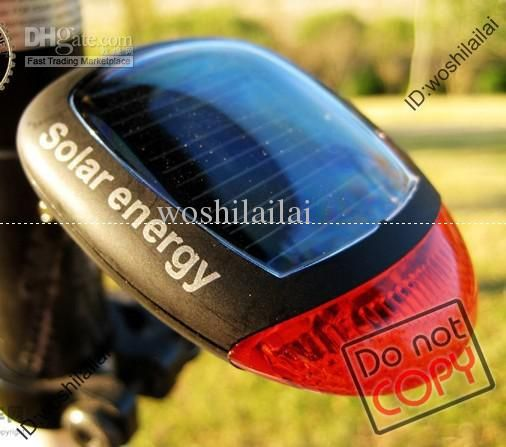Wholesale Solar taillights Bicycle Parts bicycle tail light Outdoor Sports Cycling equipment accessories, Free shipping, $6.06-7.41/Piece   DHgate