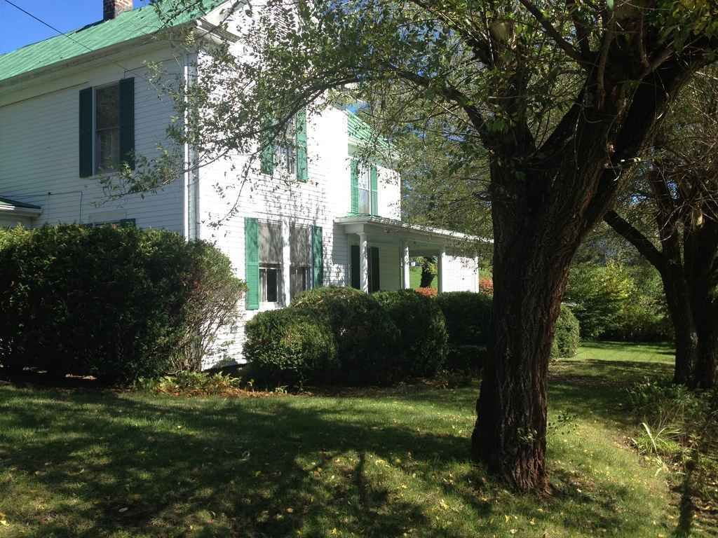 """Newly reduced price. A true """"diamond in the rough"""". Stately older home located in historic Fort Vause area of Shawsville. Big rooms, three porches, two garages, nice landscaping and field behind house. Numerous amenities nearby including bank, post office, medical center, wellness center, dentist office, food markets and several restaurants. Needs owner who appreciates a majestic older home from a bygone era."""