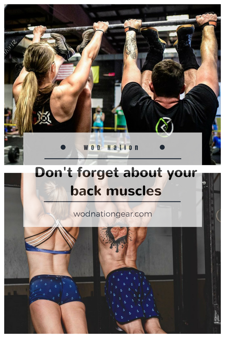 Don't forget about your back muscles #crossfit