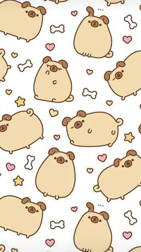 Pugsheen Pusheen Pusheen Cute Cute Wallpapers