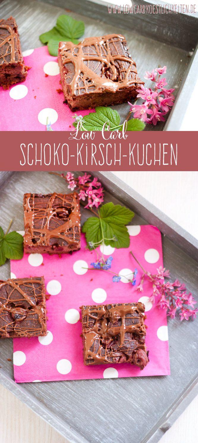 Low Carb Schoko Kirsch Kuchen Schoko Kirsch Kuchen Low Carb Kostlichkeiten Einfache Kokosmakronen