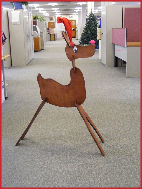 Reindeer Picture Frame Craft