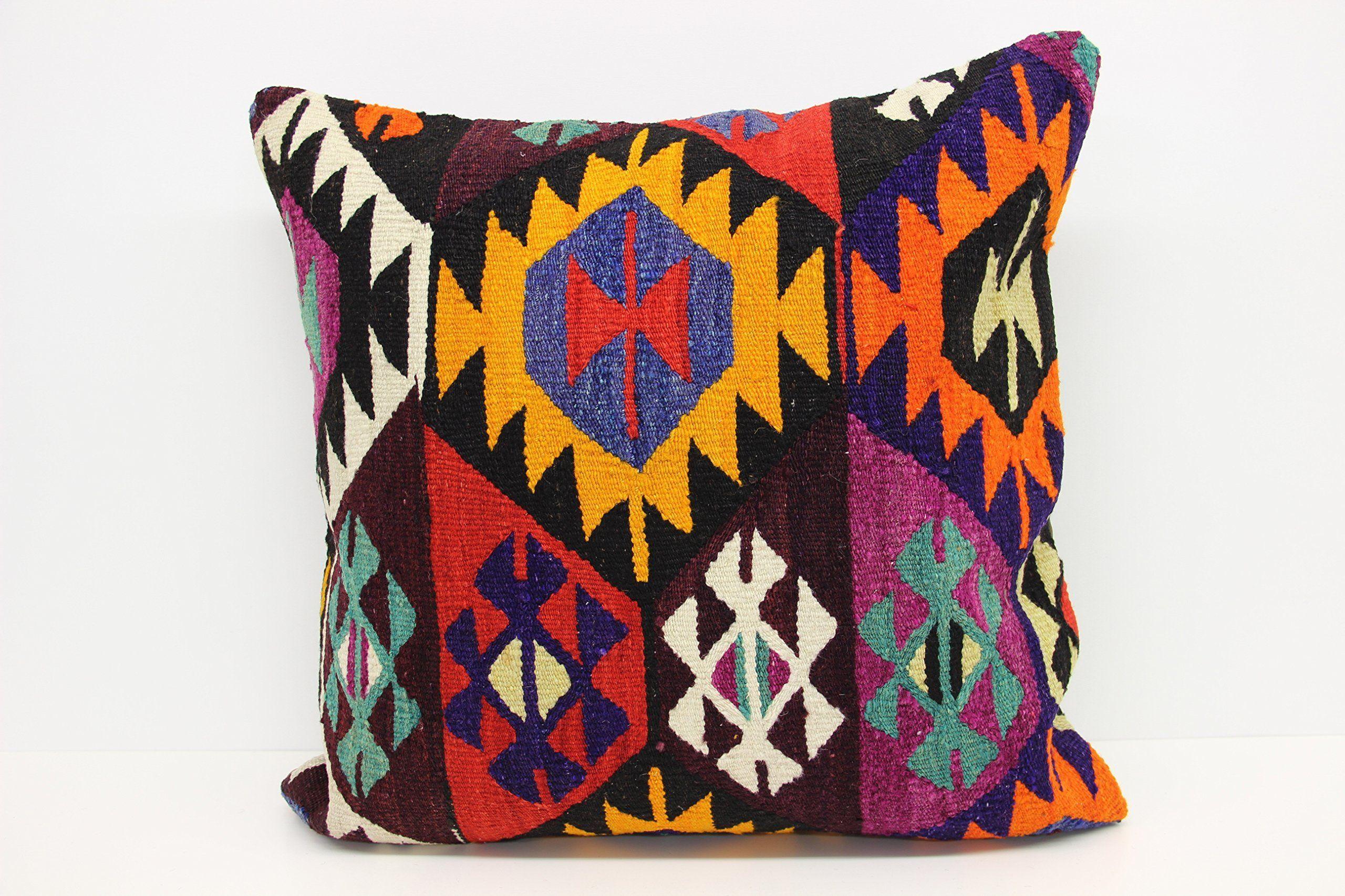 Decorative big kilim pillow cover x inch x cm huge kilim
