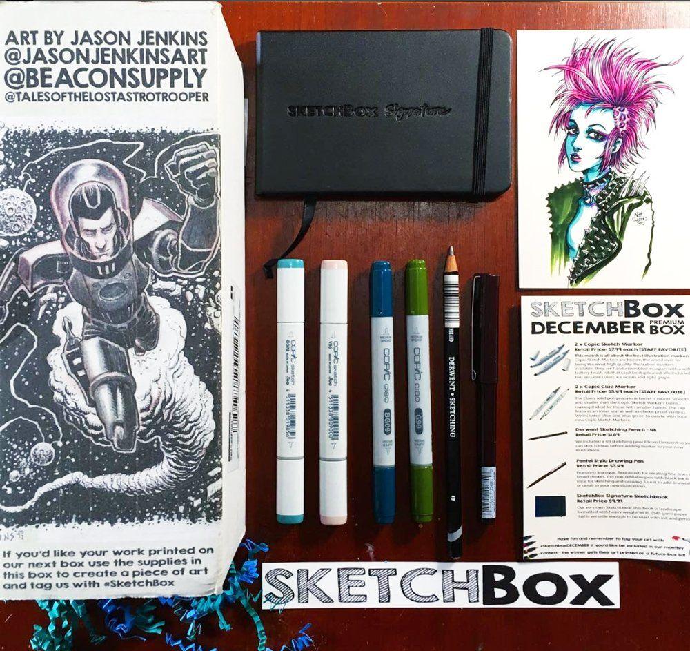 Sketchbox Past Boxes2 Html Sketch Box New Art Art Prints