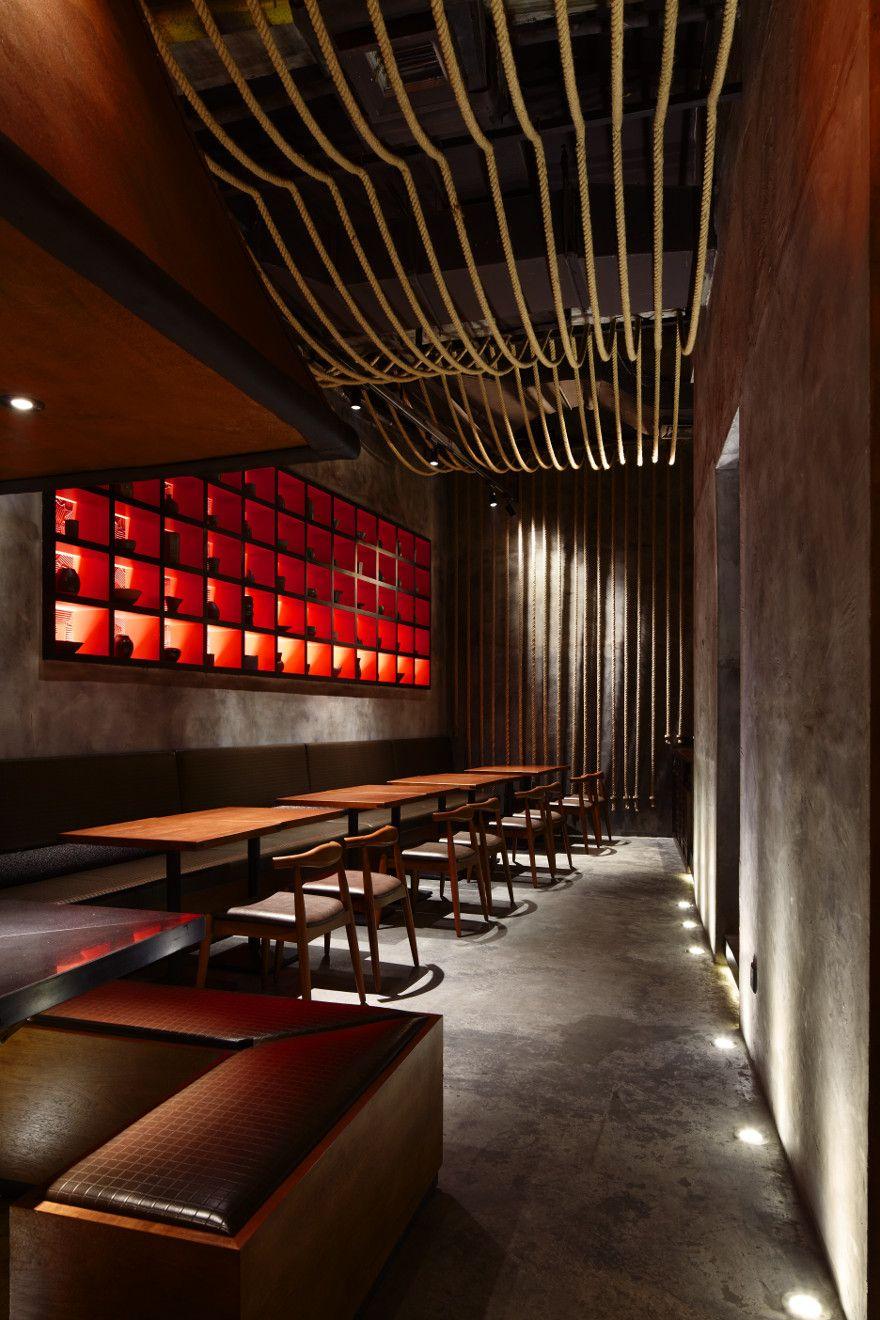 Kemuri Prism Design Bar Design Restaurant Restaurant Interior Restaurant Design