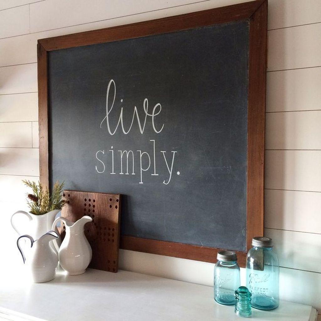 Creative Chalkboard Kitchen Decoration