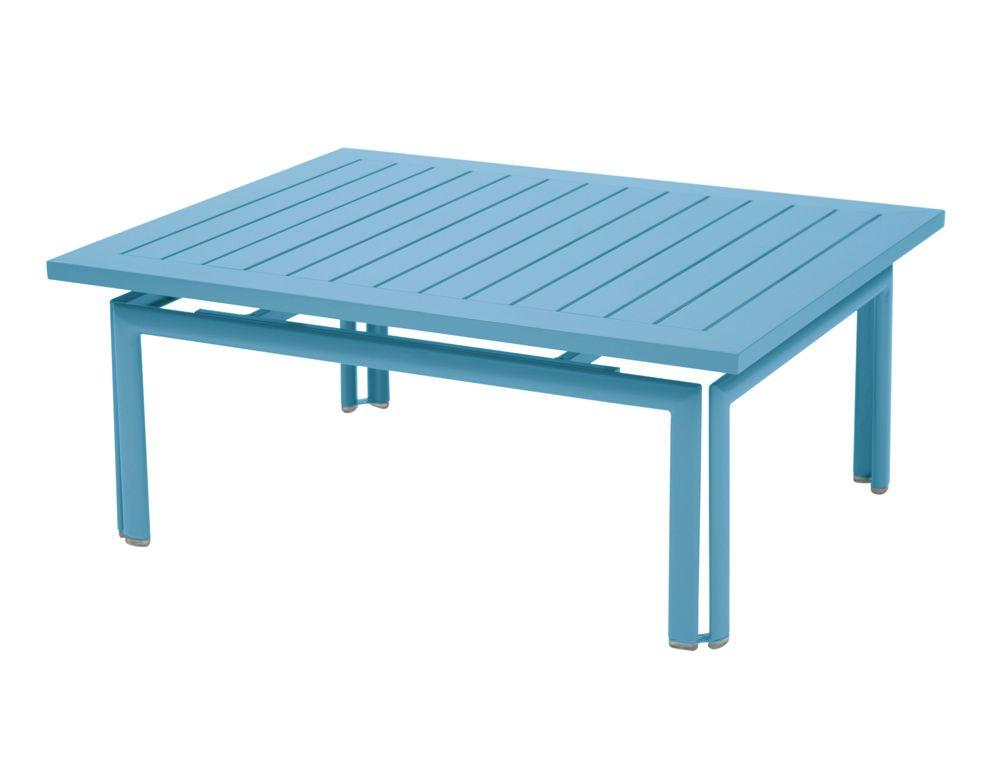 Table basse Costa, table basse pour salon de jardin   BLEU ...