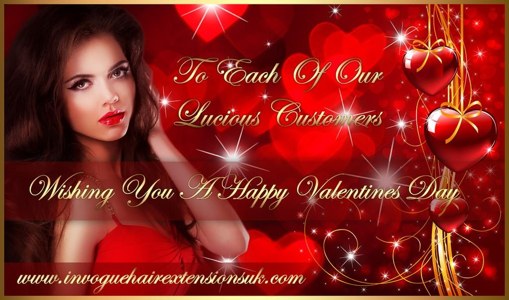Happy Valentines Day From In Vogue Hair Extensions Uk In Vogue