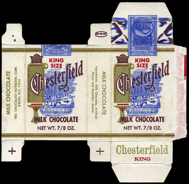 Tell Chocolate Novelties - King Size Chesterfield milk ...